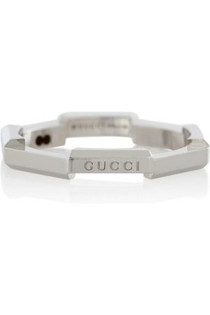 Gucci Link To Love 18kt white gold ring
