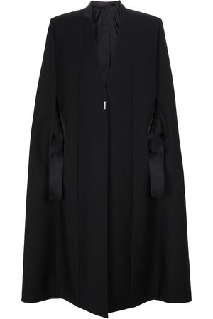 Givenchy Wool and mohair cape