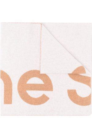 Acne Studios Oversize tørklæde i jacquard