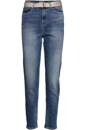 Tommy Hilfiger Gramercy Tapered Hw A Lus Lige Jeans Blå