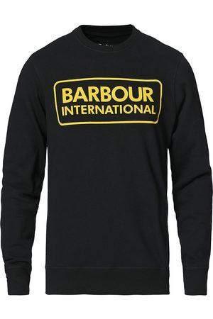 Barbour Large Logo Sweatshirt Black