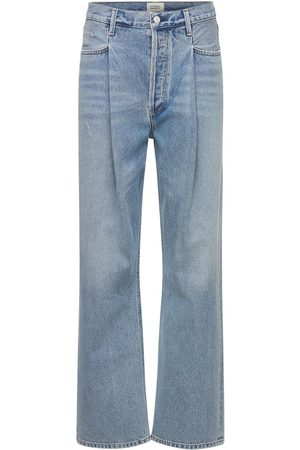Citizens of Humanity Franca Pleated High Rise Denim Jeans