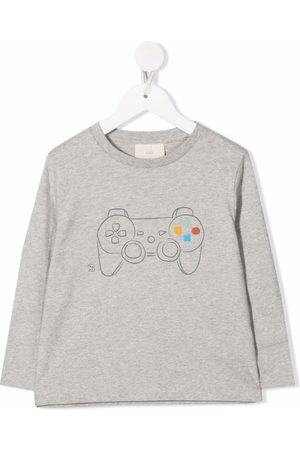 KNOT Langærmet T-shirt med grafisk print