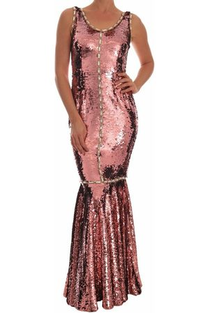 Dolce & Gabbana Crystal Sequined Sheath Gown