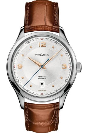 Montblanc Mænd Ure - Heritage Automatic Date White