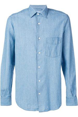 Aspesi Klassisk denimskjorte