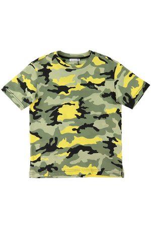 Dolce & Gabbana T-shirt - Skate - /Neongul Camouflage