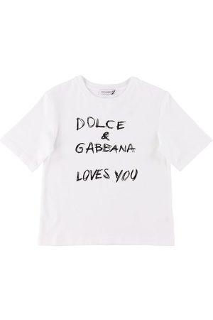 Dolce & Gabbana Kortærmede - T-shirt - Carretto - m. Tekst