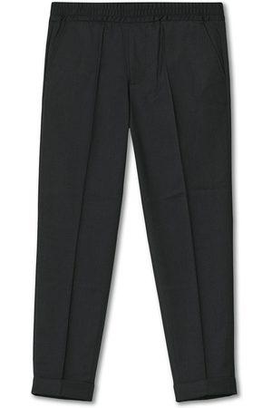 Filippa K Mænd Habitbukser - Terry Gabardine Cropped Turn Up Trousers Antracite