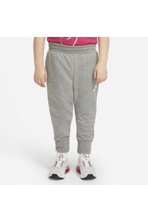 Nike Faconsyede Sportswear Club-bukser i french terry til større børn (piger) (udvidet størrelse)