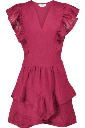 Isabel Marant Audreyo linen minidress