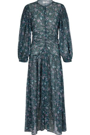 Isabel Marant, Étoile Kvinder Midikjoler - Mariana floral cotton midi dress