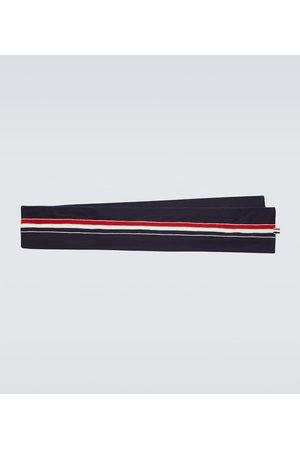 Thom Browne Mænd Tørklæder - Jersey stitched wool scarf