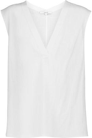 Vince V-neck cotton vest