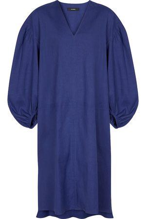 Joseph Kvinder Midikjoler - Duna linen-blend midi dress