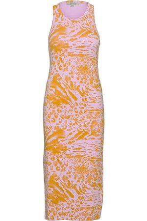 AllSaints Tali Perpetua Dress Dresses Bodycon Dresses Orange