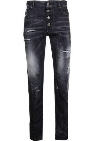 Dsquared2 Jeans med smal pasform og falmet effekt