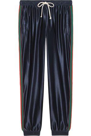 Gucci Joggingbukser med web-kant