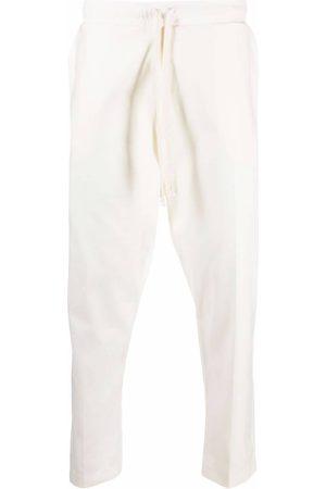 Alchemy Mænd Joggingbukser - Bukser med synlige søm og smalle bukseben