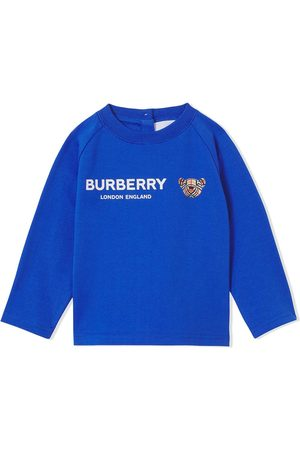 Burberry Thomas Bear top med logotryk