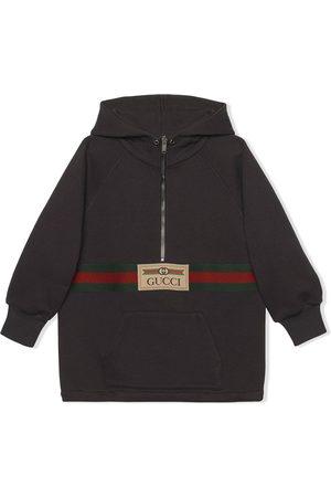 Gucci House Web half-zip jacket