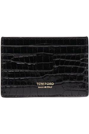 Tom Ford Kortholder med krokodilleeffekt