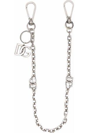 Dolce & Gabbana Clip-on kædevedhæng med DG-logo
