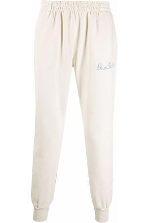 BLUE SKY INN Mænd Joggingbukser - Logo-embroidered cotton track pants