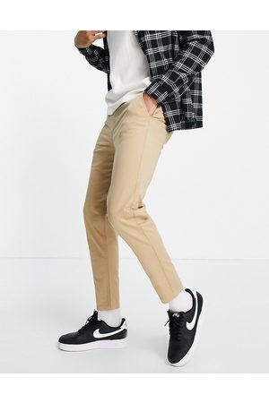 New Look Tanfarvede tapered chinos