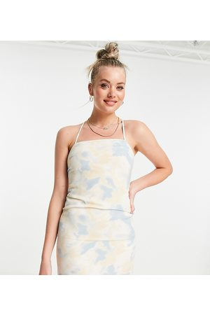 Missguided Slip-kjole med skyprint