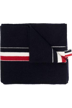 Thom Browne Mænd Tørklæder - Tørklæde med tre RWB-striber