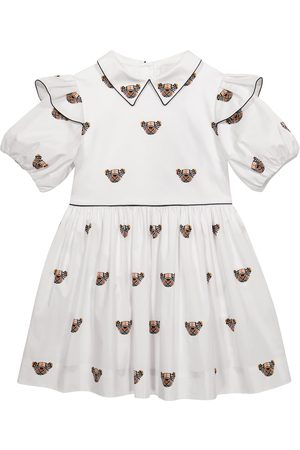 Burberry Thomas Bear stretch-cotton dress