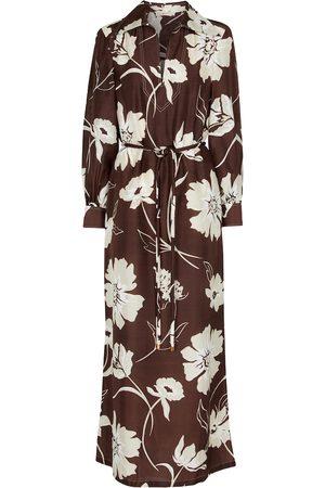 Tory Burch Floral silk maxi dress
