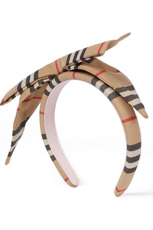 Burberry Icon Stripe cotton headband