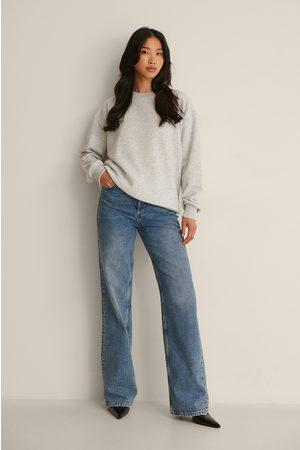 NA-KD Kvinder Sweatshirts - Økologisk Oversize Sweatshirt