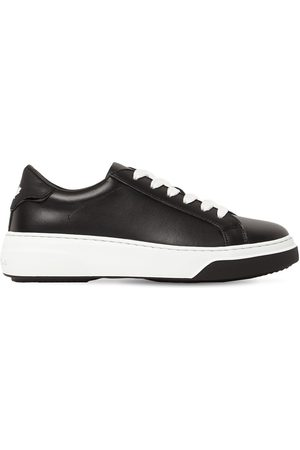 Dsquared2 Kvinder Sneakers - 40mm Bumper Leather Sneakers