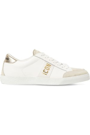 Dsquared2 Kvinder Sneakers - 20mm Cassetta Leather & Suede Sneakers