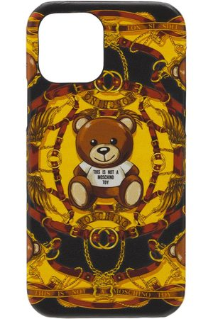 Moschino Kvinder Mobil Covers - Teddy Print Iphone 12 & 12 Pro Case