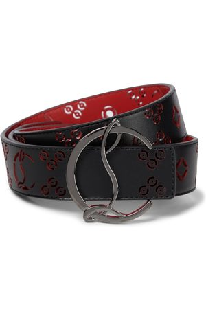 Christian Louboutin Kvinder Bælter - Lazer-cut leather belt