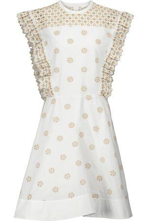 Chloé Kvinder Festkjoler - Embroidered cotton minidress