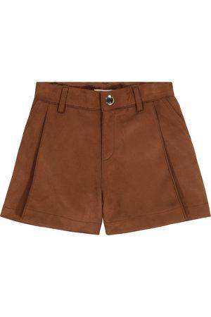 Chloé Faux suede shorts