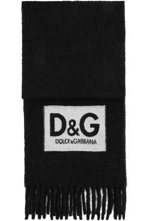 Dolce & Gabbana Mænd Tørklæder - Frynsetørklæde med logomærke