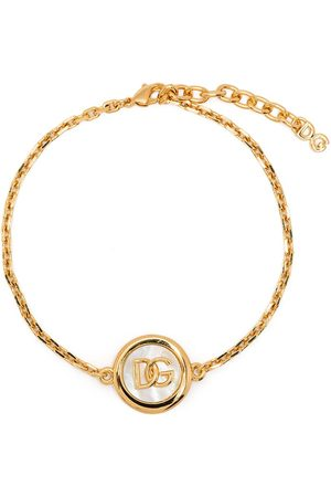 Dolce & Gabbana Mænd Halskæder - Logo-plaque chain-link braclet