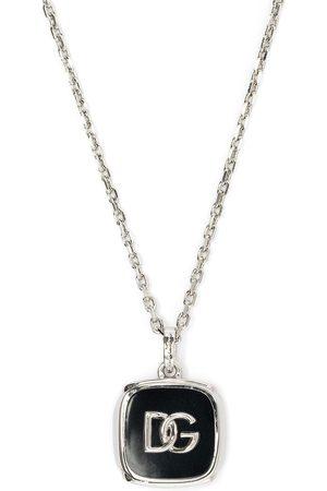 Dolce & Gabbana Mænd Halskæder - Logo-plaque chain-link necklace