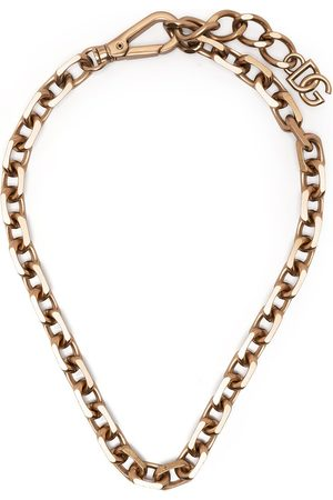 Dolce & Gabbana Mænd Halskæder - Choker-halskæde med logoplade