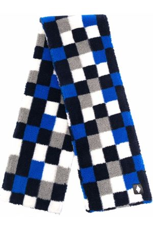 MARCELO BURLON Mænd Tørklæder - Skakternet tørklæde
