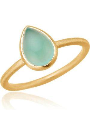 Lisberg Jewellery Cherie Ring Aqua Chalcedon