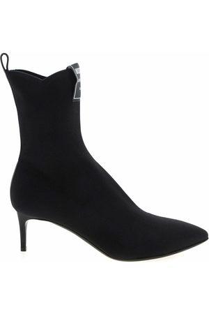 Moschino Sock Booties Heel 55