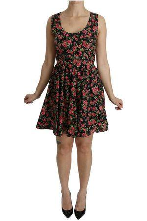Dolce & Gabbana Kvinder Bodycon kjoler - Floral Sheath Sleeveless Mini Dress