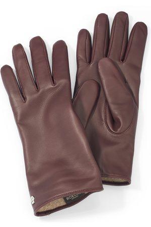 Roeckl Kvinder Handsker - Handsker i pelsfårsnappa Fra lilla
